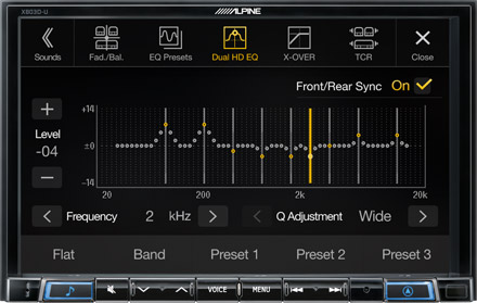 High-end Sound Tuning Options - X803D-A3