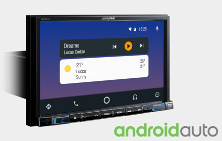 Works with Android Auto - X803D-A3