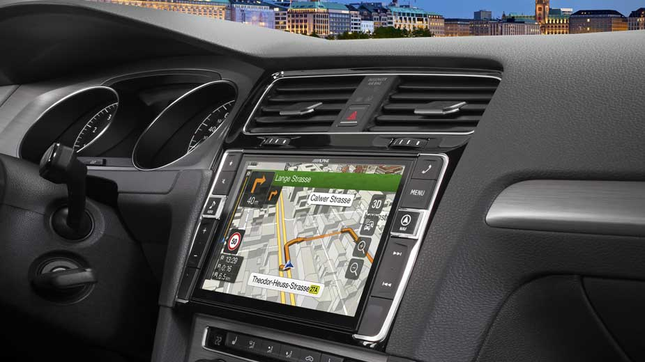 VWVortex com - European Alpine Golf 7 Infotainment System