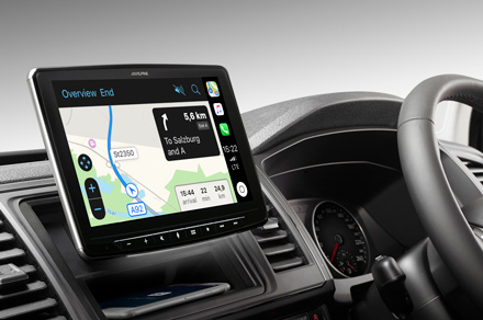 iLX-F903T6R - Online Navigation with Apple CarPlay
