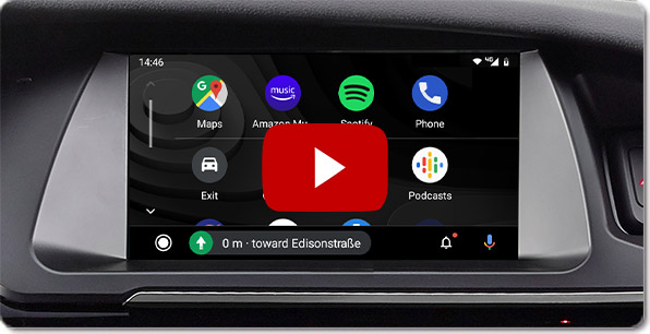 Alpine Style Navigation for Audi | Videos